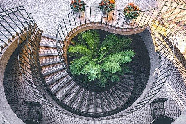 spirála schodiště