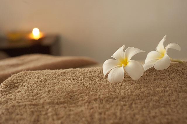 Masáž, relaxačné prostredie