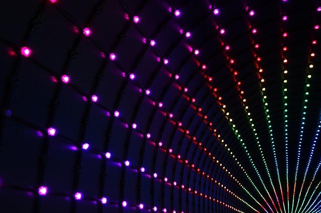 LED, osvetlenie, pruhy